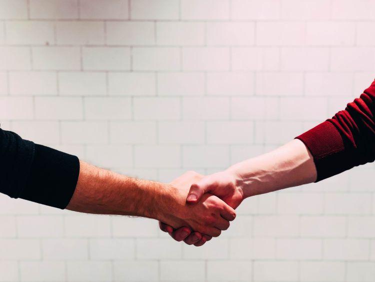 Hand Shake Payden & Rygel